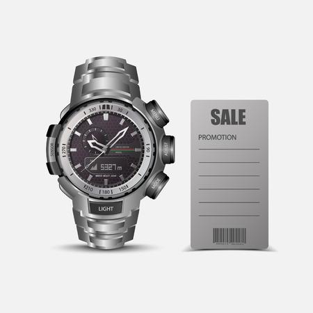 wristwatch: realistic wrist watch