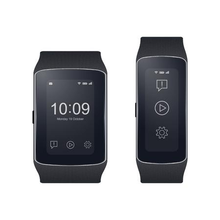 wristband: Smart watch  Illustration