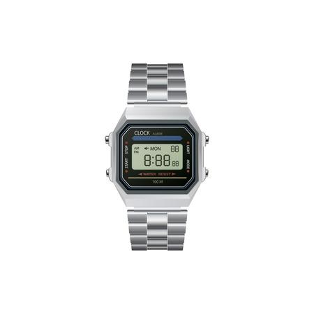 wrist watch: Vector realistic wrist watch. Illustration