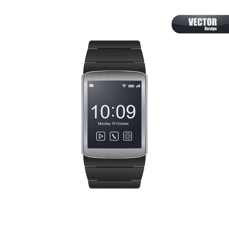 Smart watch vector.
