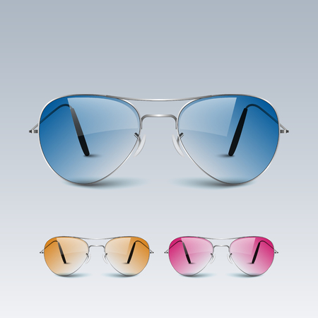 eyewear fashion: Sun glasses.vector