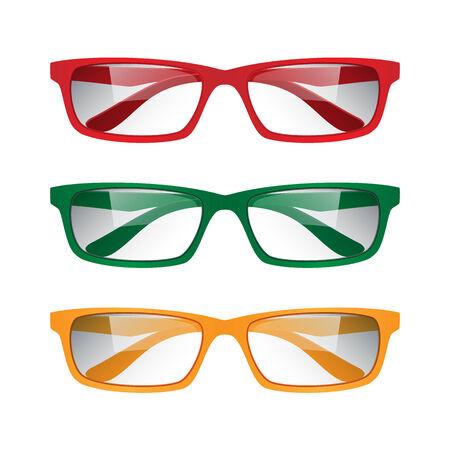 Eyeglasses, illustration