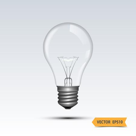Light bulb,vector Ilustração