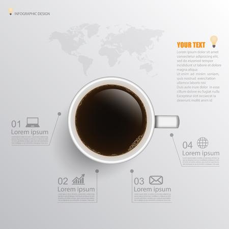 infographic. coffee Illustration