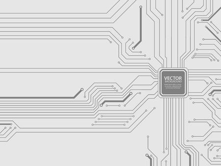 Circuit board vector.