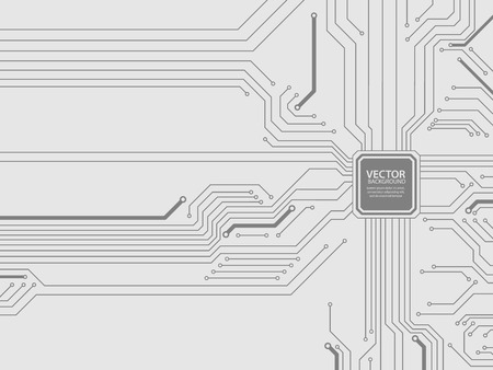 background texture: Circuit board vector.