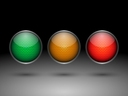 Traffic lights.