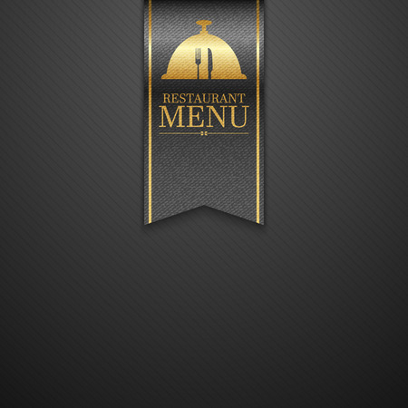 ornament menu: Restaurant menu design.