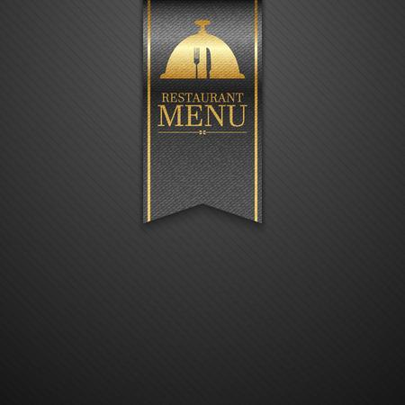 carta de postres: Restaurante de dise�o del men�.