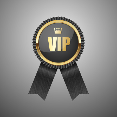Vip black label. Vector