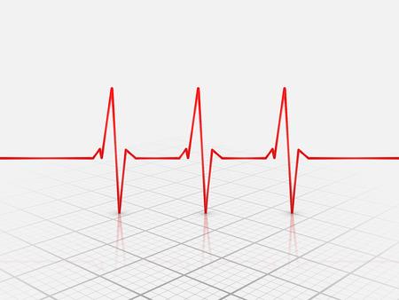 conduction: Cardiogram Icon,vector