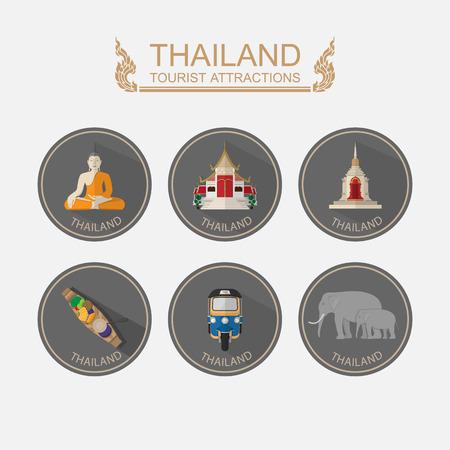 Travel Thailand .Vector