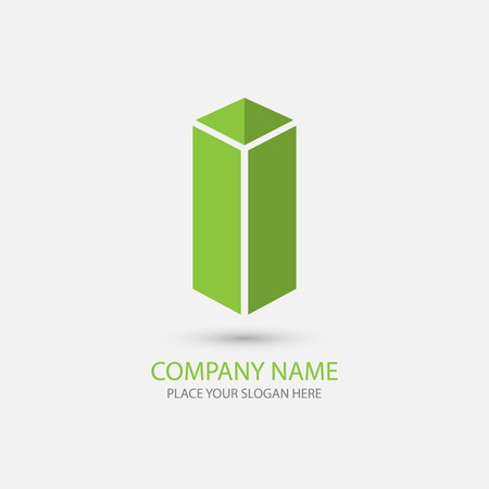 office building icon: vector modern office building icon, logo Illustration