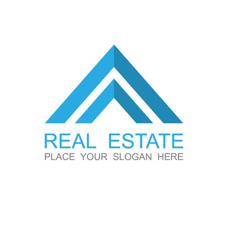rent house: Real Estate vector logo design template.vector