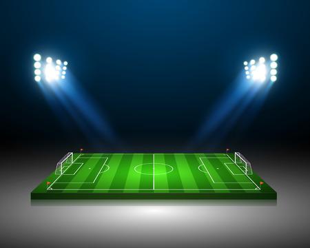 Soccer field  Vettoriali