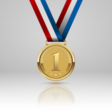 metal sign: Medal winner