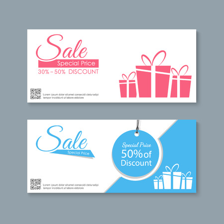 Sale banners ontwerp, vector Vector Illustratie