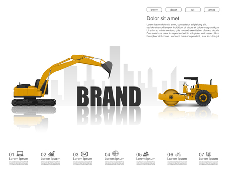 initiate: Building up a brand concept,vector