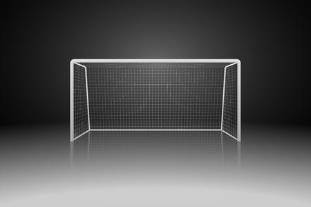 Soccer doel Vector Illustratie