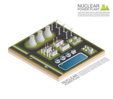 Isométrique centrale nucléaire, vecor