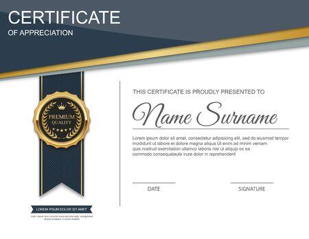 Szablon certyfikatu.