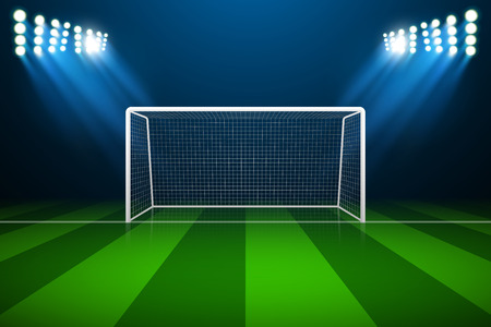 Soccer goal  イラスト・ベクター素材