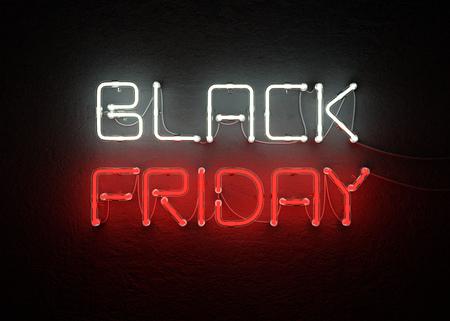 Negro de la venta de venta de viernes de fondo. ilustración 3d Foto de archivo - 84449696