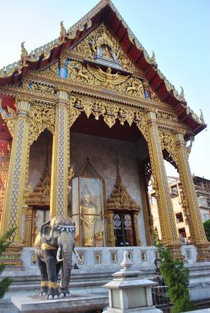 Wat Samien Nari Beautiful Temple Bangkok  thailand