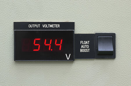 volt: output volt meter panal and switch