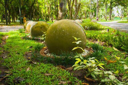 land slide: Public park