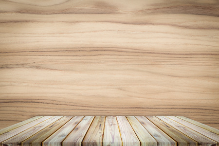 teak wood: Teak wood shelf on teak texture background.