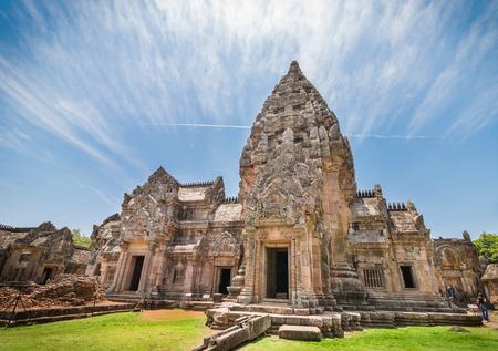 Phanom rung historical park or Prasat Phanom Rung temple Located in Buriram Province,Thailand. 報道画像