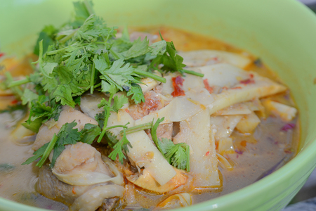 sugar palm: Cabbage soup diets,thai style food,Food from soft sugar palm.