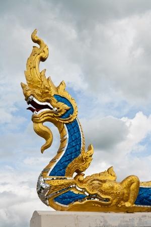 King of Naga statue