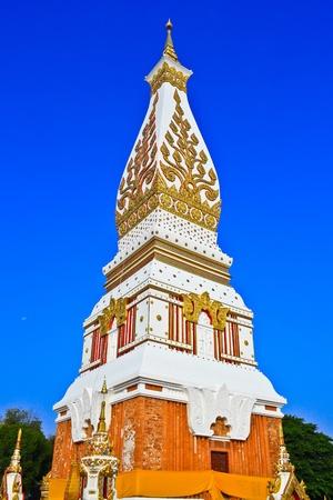 Phra That Phanom temple, Nakhon Phanom Province, Thailand