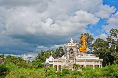 construction Buddha,Ubon Ratchathani Thailand Stock Photo