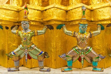 Guardian of Wat Pra Kaew Bangkok Thailand