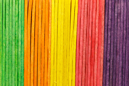 colorful of Ice cream sticks photo
