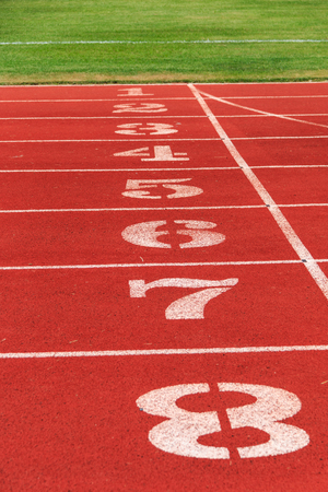 top seven: The numbers on the track