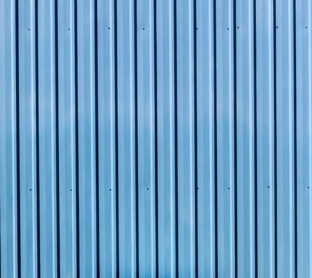 Bule zinc wall photo