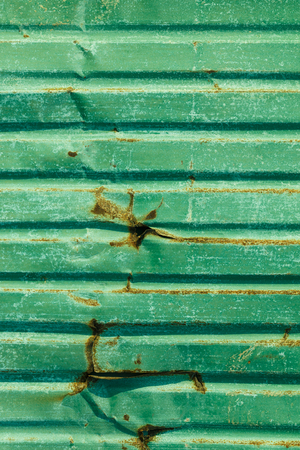 rend: patten of old Zinc background