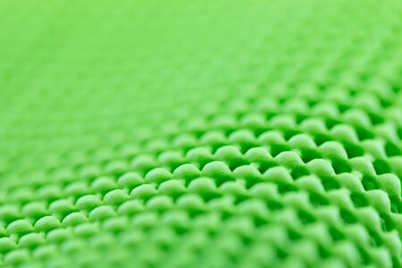 non skid: Close up detail of green textured non skid mat