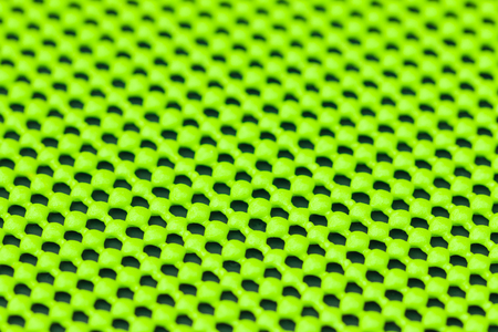 non skid: Close up detail of green skid mat Stock Photo
