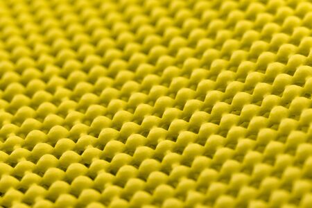 non skid: Close up detail of yellow skid mat Stock Photo
