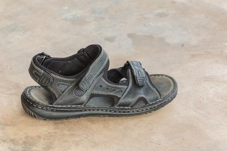 leatherette: mans leatherette shoes