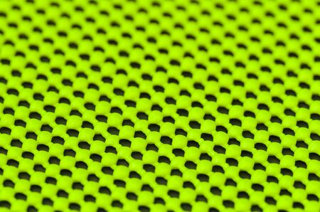 non skid: Close up detail of green  textured non skid mat Stock Photo