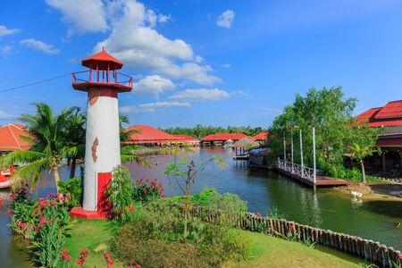 replica: Replica Lighthouse at Hua Hin in Thailand