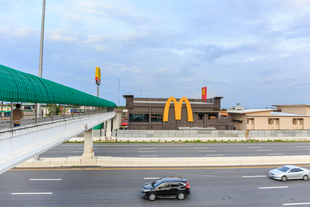 chachoengsao thailand june 25 2015 mcdonalds logo at mcdonalds restaurant on motorway - Blue Restaurant 2015
