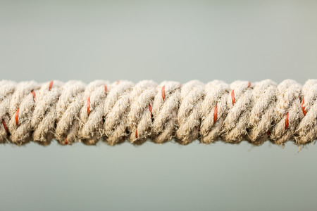 tied knot: rope tied knot in nature background