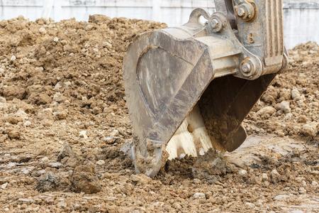 digger: Big working digger Stock Photo